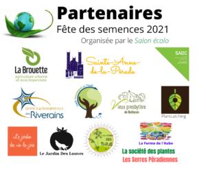 Partenaires Fête des semences 2021